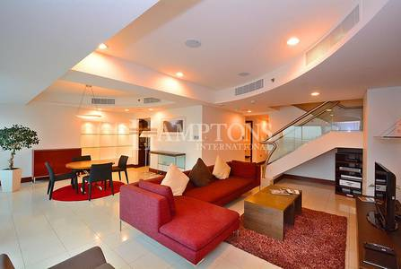 2 Bedroom Flat for Rent in World Trade Centre, Dubai - Bright 2BR Duplex in Jumeirah Living