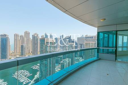 4 Bedroom Apartment for Sale in Dubai Marina, Dubai - High Floor with Full Stunning Marina view