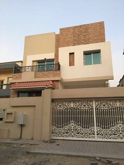 Excellent villa brand new for rent in Ajman .