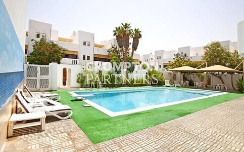 4 Bedroom Villa for Rent in Al Karamah, Abu Dhabi - Pool