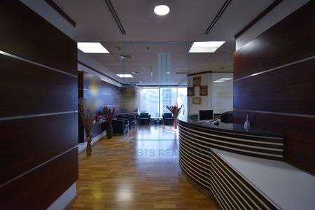 Office for Rent in Jumeirah Lake Towers (JLT), Dubai - High floor fitted at great price at Saba1