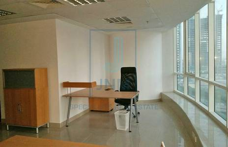 Office for Rent in Jumeirah Lake Towers (JLT), Dubai - Furnished Next To Jlt Metro At Fortune T