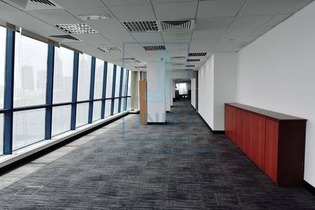 Office for Rent in Jumeirah Lake Towers (JLT), Dubai - Top floor fitted & spacious office at X2