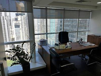 Floor for Sale in Jumeirah Lake Towers (JLT), Dubai - Fitted And Furnished Office Space @ JBC 2