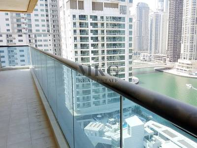 2 Bedroom Apartment for Rent in Dubai Marina, Dubai - Huge Balcony |  Marina View | Near Metro