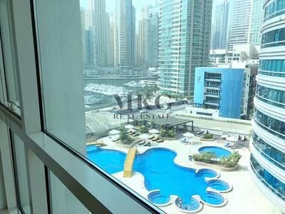 2 Bedroom Apartment for Rent in Dubai Marina, Dubai - Large 2BR | Balcony | Near Metro Station