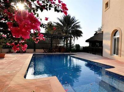 6 Bedroom Villa for Sale in Arabian Ranches, Dubai - Golf Course View- Mahra Type 13- 6 bed+maids