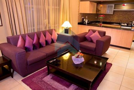 1 Bedroom Apartment for Rent in Al Barsha, Dubai - LuxuryFurnished1&2BR|Near MoE|Best Price