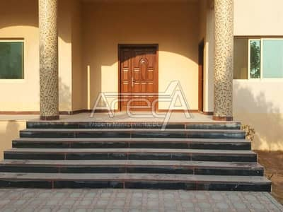 Splendid 7 Bed Villa for Rent in Khalifa City A