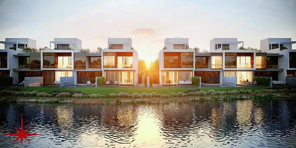 4 Bedroom Townhouse for Sale in Jumeirah Golf Estate, Dubai - Luxury Home with Lake View| Off Plan