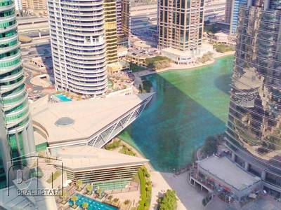 شقة 2 غرفة نوم للايجار في أبراج بحيرات الجميرا، دبي - HIGH FLOOR FULLY FURNISHED AVAILABLE NOW