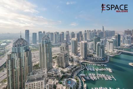 2 Bedroom Apartment for Rent in Dubai Marina, Dubai - Fully furnished| Full Marina View| Vacant