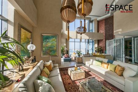 4 Bedroom Apartment for Sale in Dubai Marina, Dubai - Fully Furnished | Upgraded | 7 Balconies