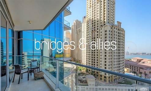 2 Bedroom Flat for Rent in Dubai Marina, Dubai - HIGH QUALITY | 2 BR + maids sea view apt