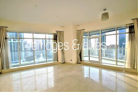 3 Bedroom Apartment for Rent in Dubai Marina, Dubai - SPECTACULAR 3 BED + MAIDS W/ MARINA VIEW