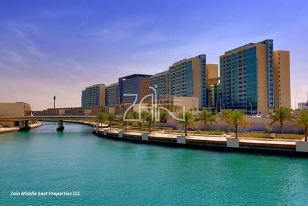 1 Bedroom Apartment for Sale in Al Raha Beach, Abu Dhabi - Hot Deal! Canal View 1BR Apt High Floor