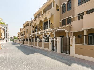 4 Bedroom Villa for Rent in Jumeirah Village Circle (JVC), Dubai - 4 BR Inner Townhouse|Private Parking