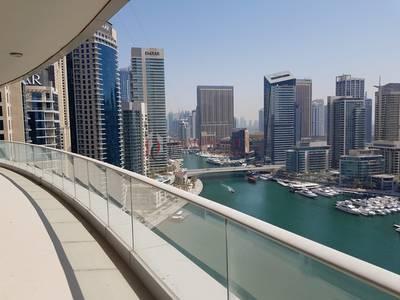 2 Bedroom Apartment for Rent in Dubai Marina, Dubai - Spacious 2 BR with Stunning View of Marina    Marina Promenade
