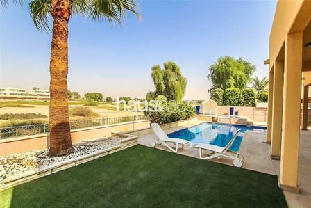 فیلا 5 غرفة نوم للبيع في المرابع العربية، دبي - Golf Course Views | Designer 5 Bed Villa
