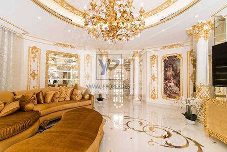 5 Bedroom Villa for Sale in Palm Jumeirah, Dubai - Golden 5BR Villa   High number   Upgraded