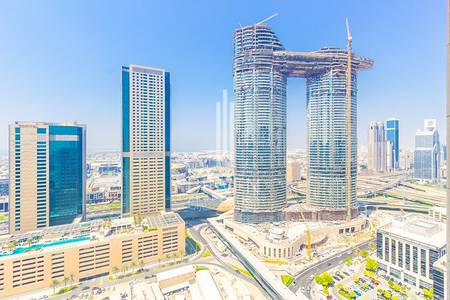 1 Bedroom Apartment for Sale in Downtown Dubai, Dubai - High Floor 1 Bed Sea View | Large Layout