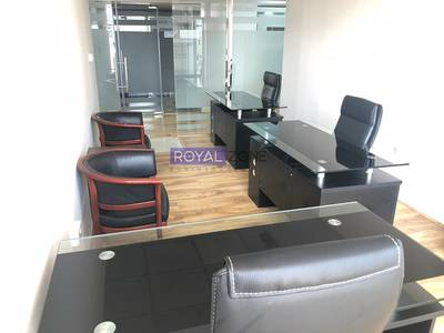 Office for Rent in Al Nahda, Dubai - Office Space Fully Furnished with Outside View
