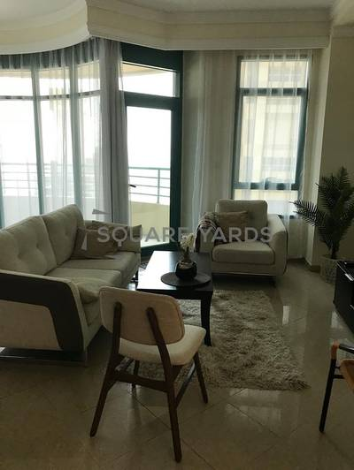 Fully Furnished 2 BR with Partial Sea vi