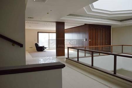6 Bedroom Villa for Rent in Emirates Hills, Dubai - Huge Private 6BR+M Villa in Emirates Hills