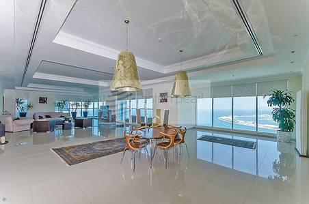 5 Bedroom Apartment for Sale in Dubai Marina, Dubai - Amazing 5BR Penthouse with Full Sea View
