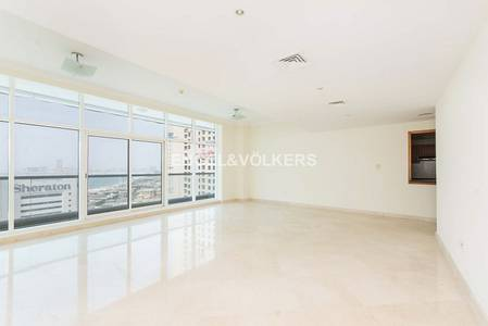 3 Bedroom Flat for Rent in Dubai Marina, Dubai - Spacious | Plus maid room | Marina views