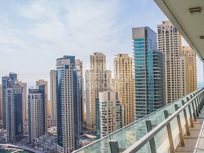3 Bedroom Apartment for Sale in Dubai Marina, Dubai - Panoramic Marina View   3BR   High Floor
