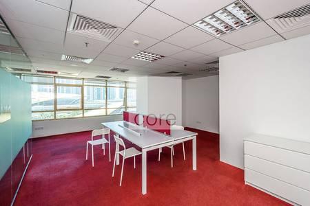 مکتب  للبيع في أبراج بحيرات الجميرا، دبي - Fully fitted furnished office I Mid Floor