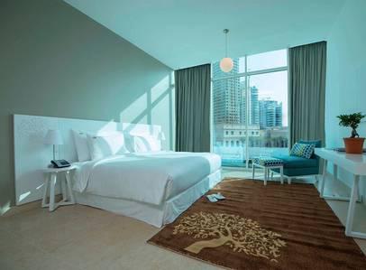 شقة فندقية  للايجار في دبي مارينا، دبي - King Bed