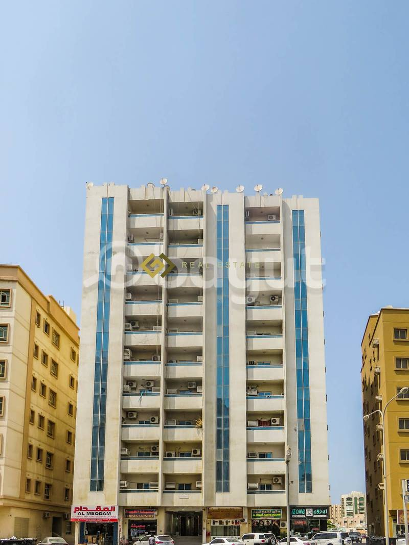 Commission free 1 BHK Available For Rent in Abubakkar Building Ajman