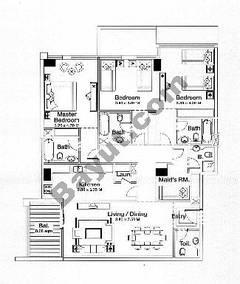 Floorplan 3 Bedrooms Type A