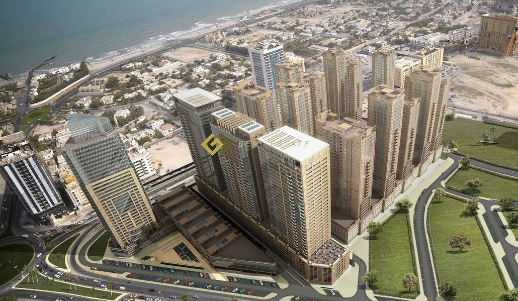 Commission Free 2 Bedroom Apartment Available For Rent in Ajman One Towers