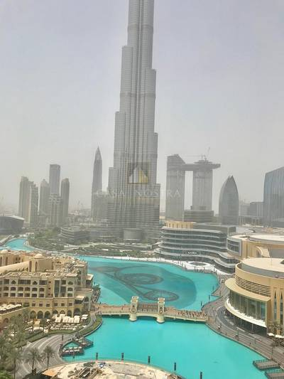 1 Bedroom Flat for Sale in Downtown Dubai, Dubai - 7Unit 1BR Fountain and Burj Khalifa View