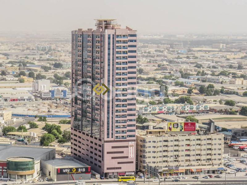 1 Month Free..! Commission Free..! Beautiful Views 1 BHK Available For Rent in Expo Building Ajman