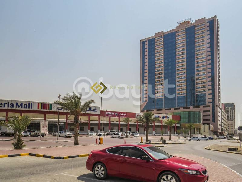 2 1 Month Free..! Commission Free..! Beautiful Views 1 BHK Available For Rent in Expo Building Ajman