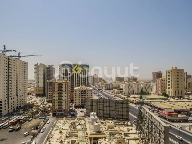 21 1 Month Free..! Commission Free..! Beautiful Views 1 BHK Available For Rent in Expo Building Ajman