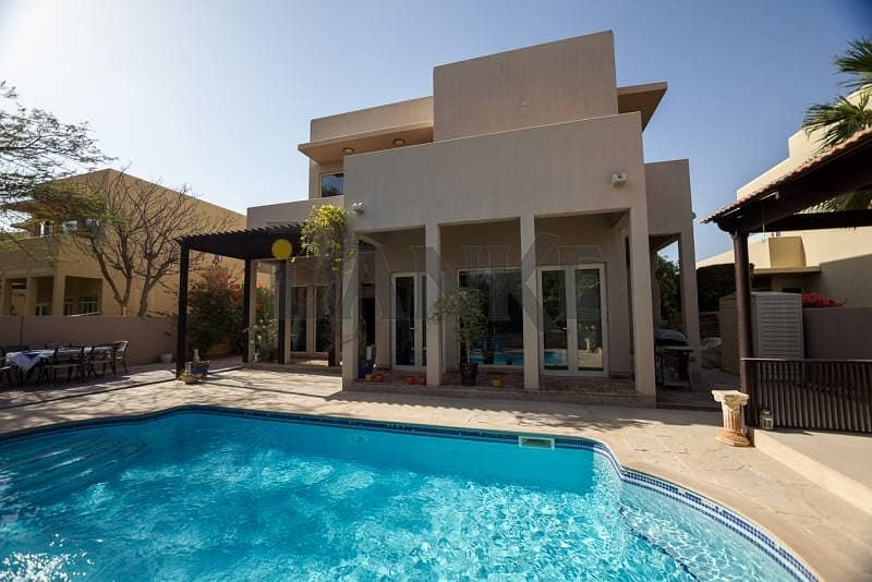 2 Upgraded Single row Pool Villa that's on the Park