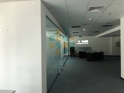 Office for Rent in Barsha Heights (Tecom), Dubai - fully fitted with 2 glass partitioned networked office