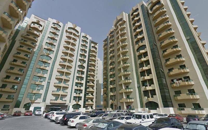 2 B/R Apt for sale in Rashidiya towers, Ajman