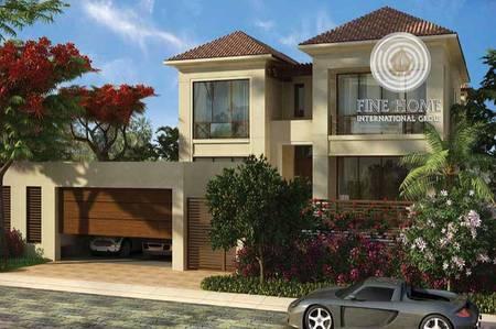A corner Villa in Hidd Al Saadiyat_Abu Dhabi