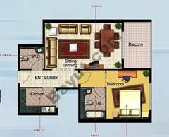 1 Bedroom Type 2