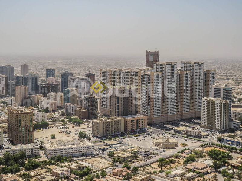 24 Commission Free  1 Bedroom Hall Apartment for Rent in Ajman Corniche Tower Ajman