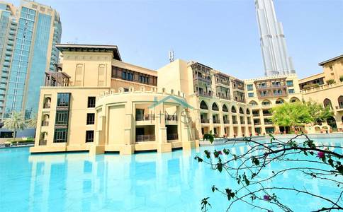 2 Bedroom Apartment for Sale in Old Town, Dubai - On the Water | 2 bedroom + Study + Terrace