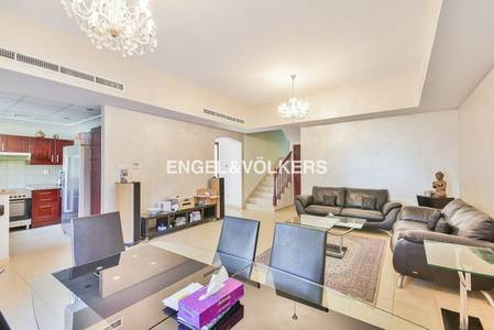 3 Bedroom Townhouse for Rent in Arabian Ranches, Dubai - Type 3M Furnished | Opposite Pool & Park