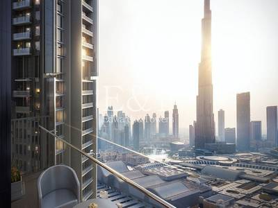 4 Bedroom Flat for Sale in Downtown Dubai, Dubai - 4 BR Duplex|Vida Downtown Sky Collection