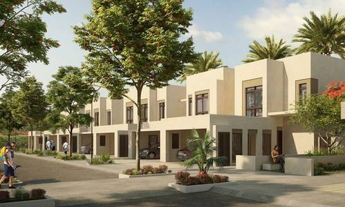 4 Bedroom Townhouse for Rent in Town Square, Dubai - 4 bedrooms Hayat townhouse in  Nshama for Rent